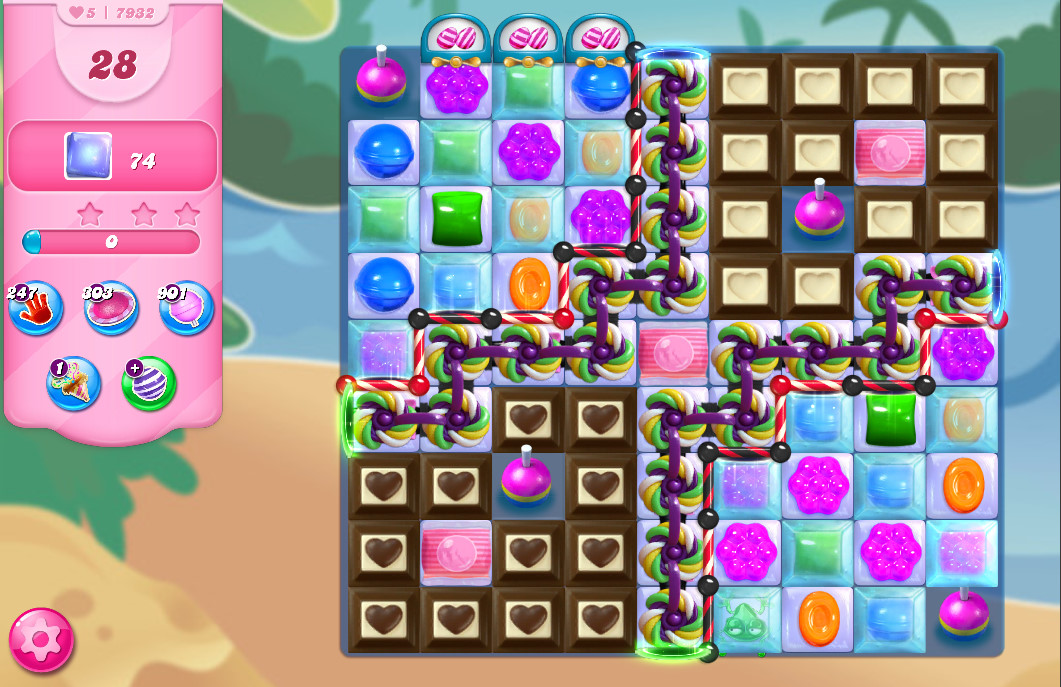 Candy Crush Saga level 7932