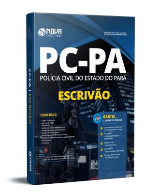 Apostila Concurso PC PA 2020 PDF Edital Online Inscrições Escrivão PC PA 2020