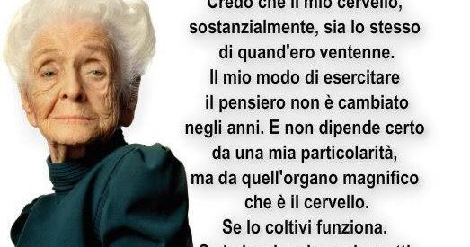 Frasi Di Rita Levi Montalcini