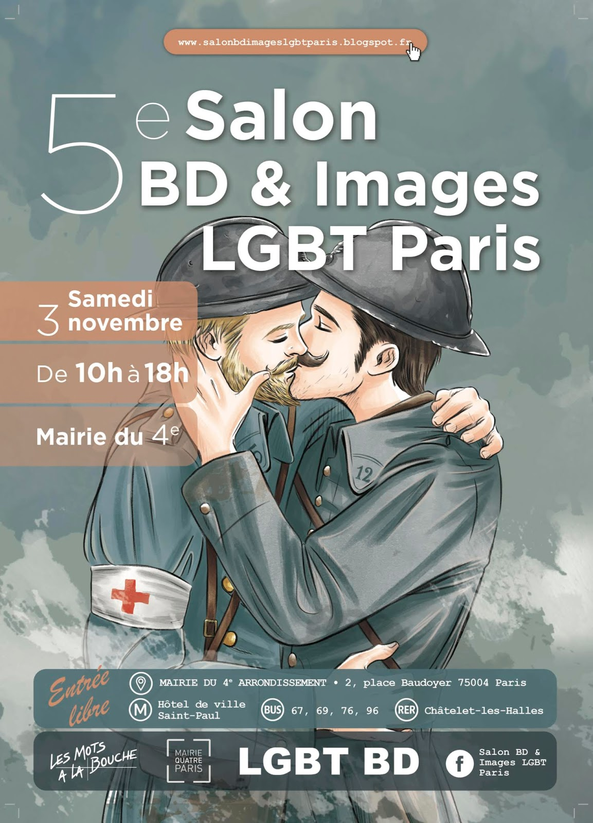 Salon BD  Images LGBT Paris