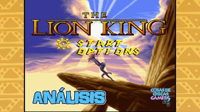 Análisis El rey león Remastered PS4 - Disney Classic Games