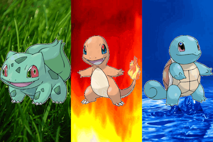 Qual pokémon inicial é o melhor em Fire Red ou Leaf Green