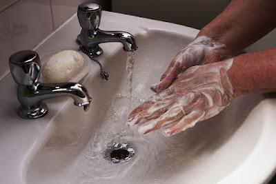 kebiasaan cuci tangan yang benar
