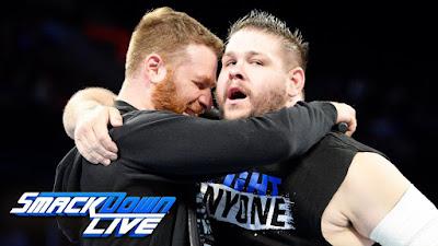 Zayn Kevin Owens HITC SmackDown Live WWE