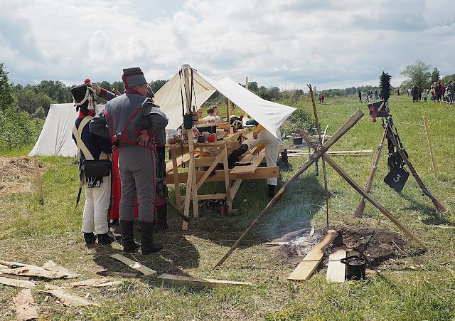 """""""Сибирский огонь - 2019"""", солдаты 1812  года (""""Siberian Fire - 2019"""", the soldiers of 1812)"""
