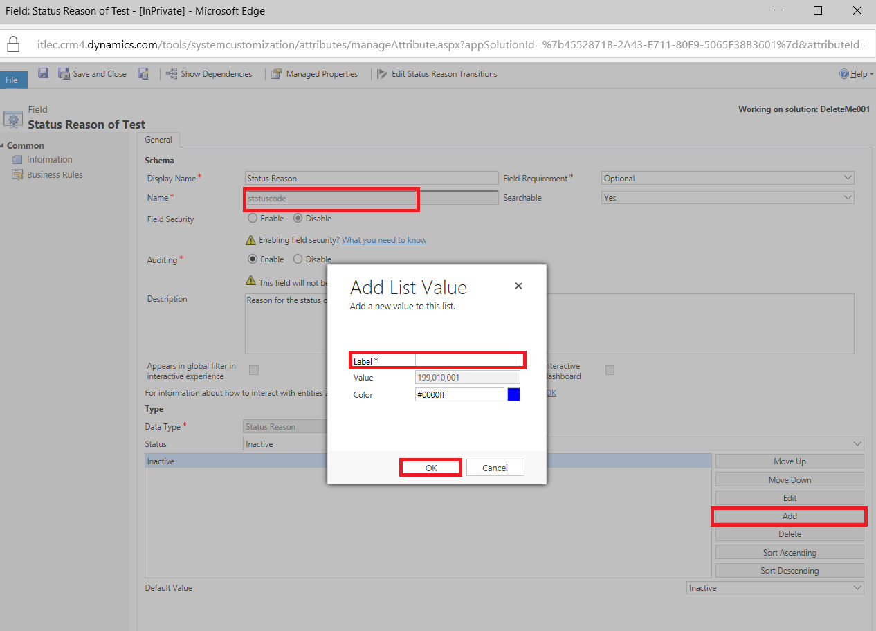 What is Reason transition Inside MS Dynamics 365? | Information