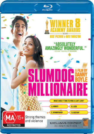 Slumdog Millionaire 2008 BDRip 350MB Hindi Dual Audio ORG 480p Watch Online Full Movie Download bolly4u