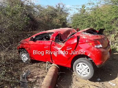 JUCURUTU-RN: Grave acidente foi registrado na RN 118