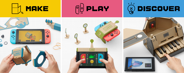 Meredith Plays: Nintendo Switch and Nintendo Labo Giveaway