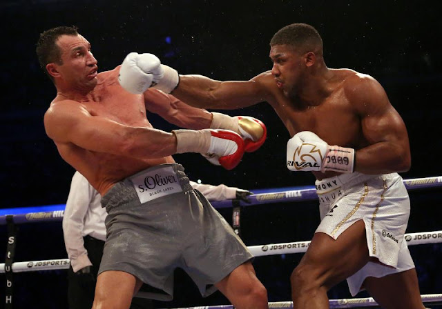Anthony Joshua VS Wladimir Klitchko