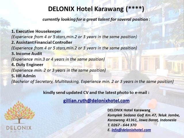 hotelandjobs, lowongan kerja hotel, hotel vacancy