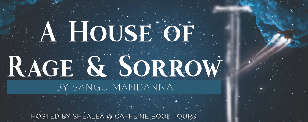 A House of Rage and Sorrow by Sangu Mandanna Blog Tour Banner