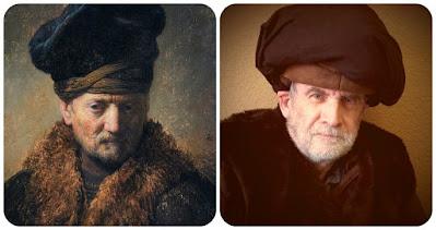 Rembrandt Portrait of a Man Getty Museum Challenge