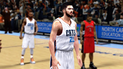 NBA 2K13 Byron Mullens Player Update