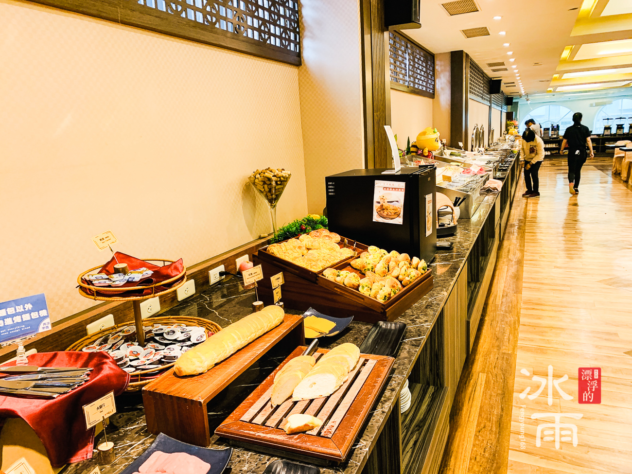 川湯春天溫泉飯店德陽館 早餐 供餐檯