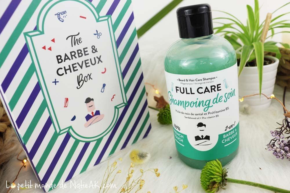 shampoing Full Care 2 en 1  Monsieur Barbier