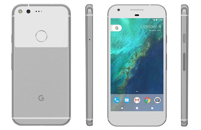Google Pixel Full Spesifikasi dan Harga Terbaru, bawakan OS Android Naugat dan spek mumpuni