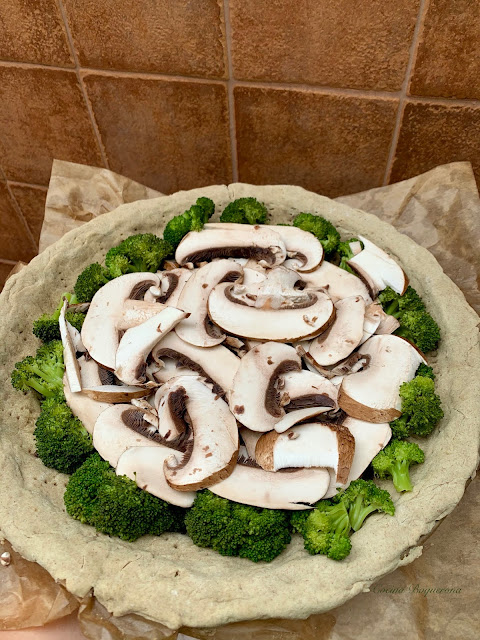Base horneada con verduras