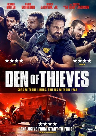Den Of Thieves 2018 BRRip 720p Dual Audio