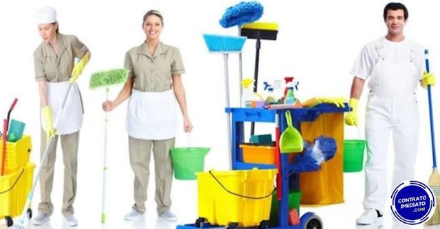 vagas para auxiliar de limpeza em curitiba