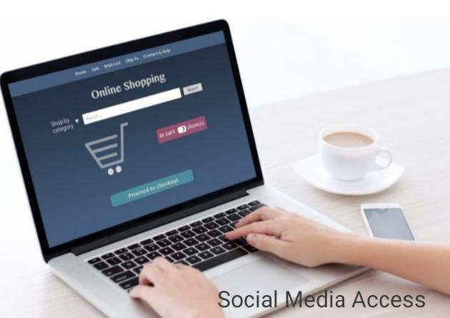 Customer shopping for behaviour in digital environment