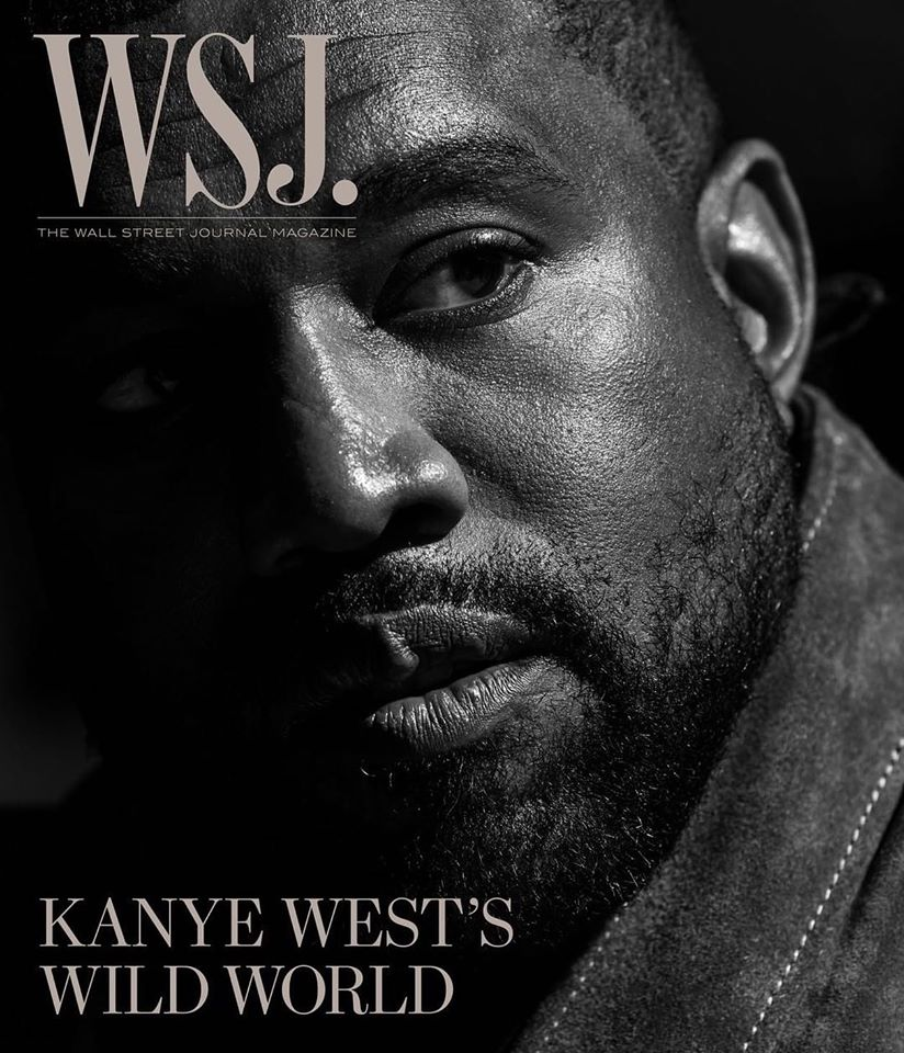 Kanye West covers WSJ Magazine April 2020
