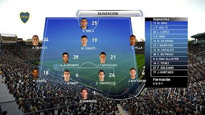 PES 2020 Scoreboard Supercopa Argentina by Lucasvillakapo