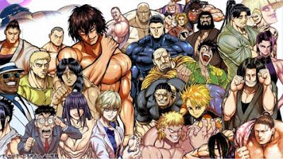 El manga Kengan Ashura recibirá una adaptación a serie anime para televisión