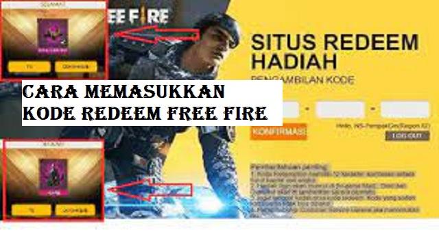 Cara Memasukkan Kode Redeem Free Fire