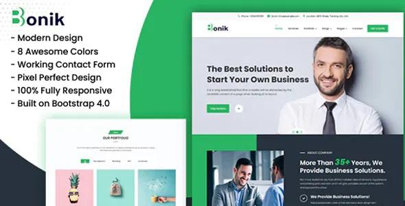 Best Multipurpose Business & Digital Agency HTML Template