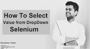 How To Select The Value From Dropdown in Selenium Webdriver