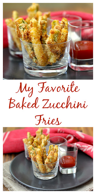 My Favorite Baked Zucchini Fries