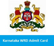 Karnataka WRD Admit Card