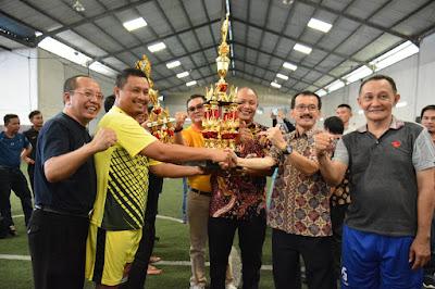 Turnamen Futsal Dalam Rangka Hut Korpri Ke-48, Ditutup Secara Resmi