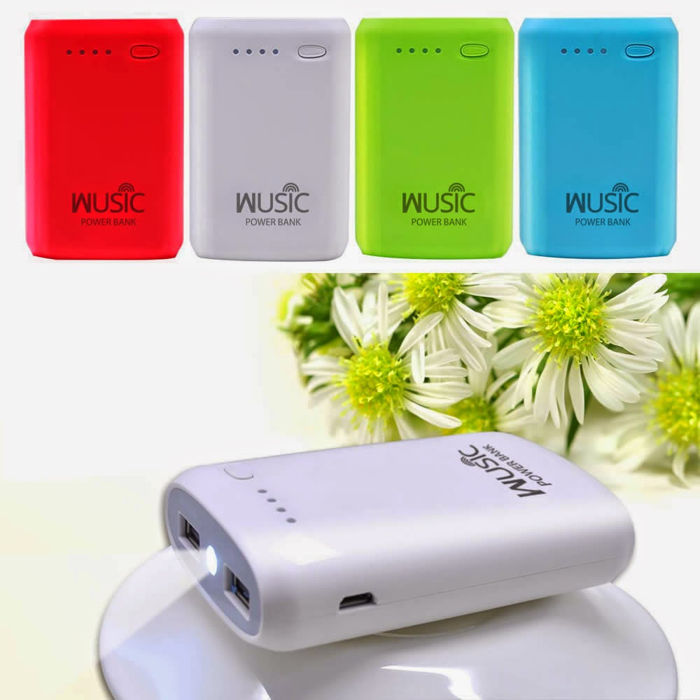 Wusic Portable Power Bank Review and Giveaway