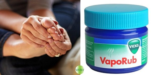 Applying Vicks On Your Feet Can Clear Cough INSTANTLY