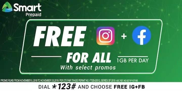 Smart FREE IG+FB Promo