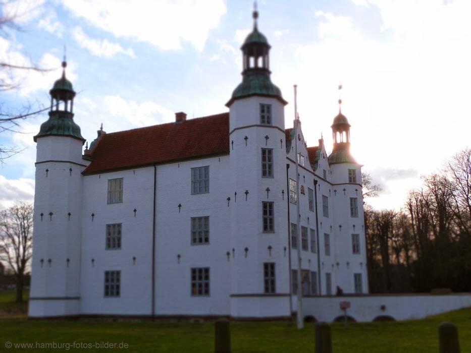 Schloss Ahrensburg, linke Seitenansicht