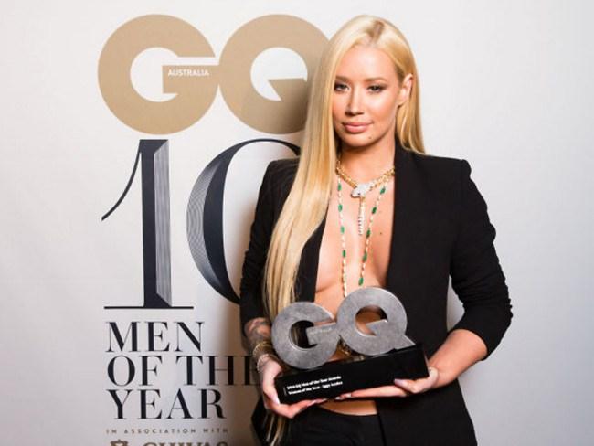 Iggy Azalea es elegida mujer del año por la revista GQ Australia
