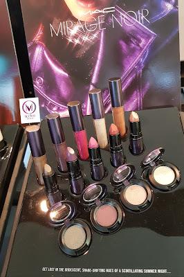 M.A.C Mirage Noir Colour display - www.modenmakeup.com