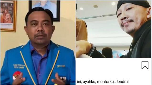 Diteror Usai Laporkan Abu Janda, Ketua KNPI Singgung Sosok 'Ayahanda': Gaya Operasimu Telah Usang!