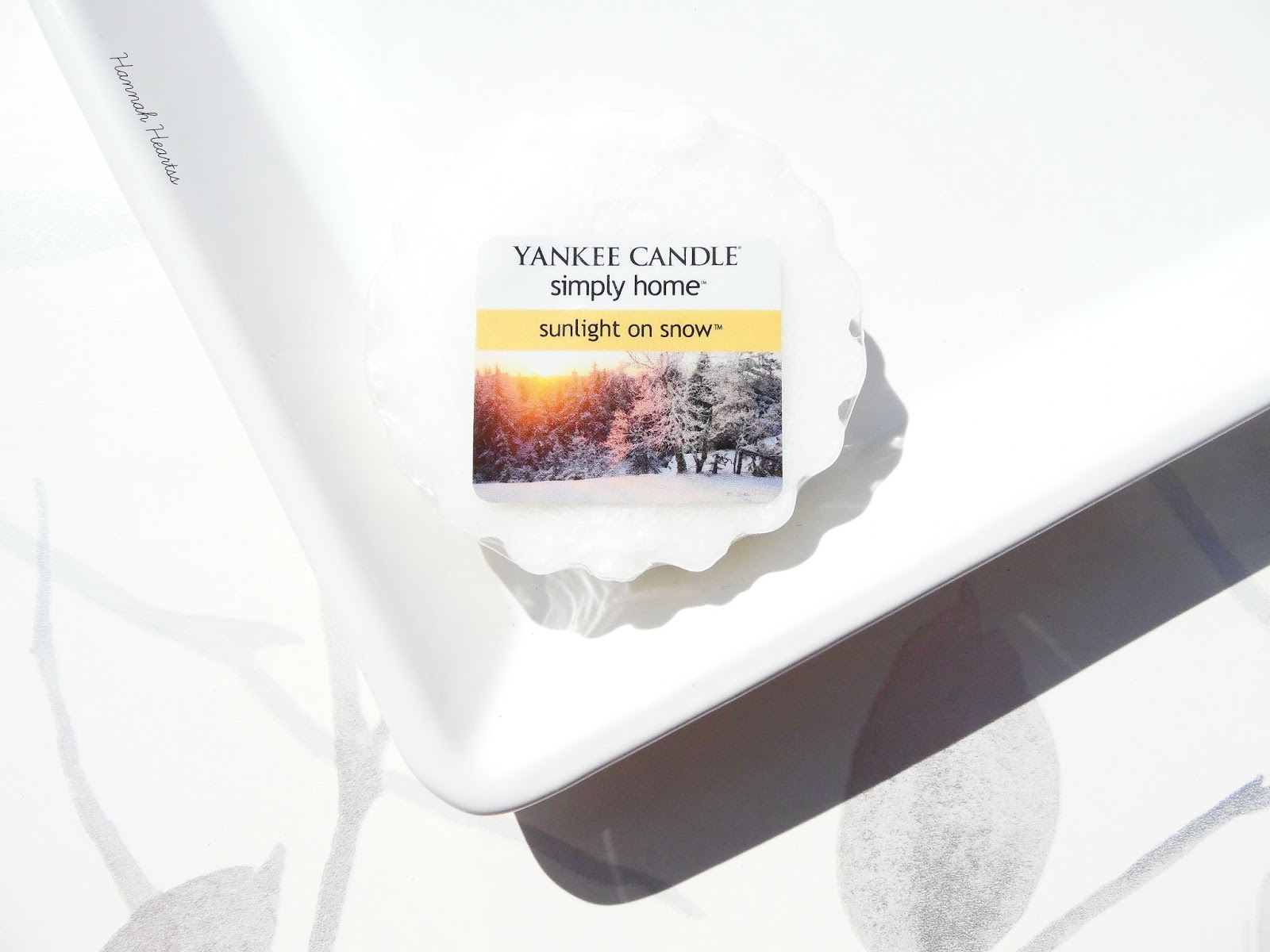 Yankee Candle Simply Home Sunlight on Snow