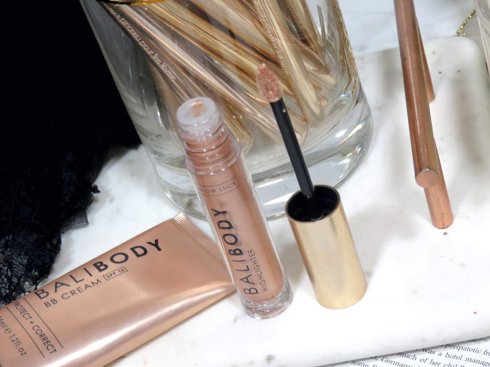 Bali Body Highlighter Sticks Review and Swatches
