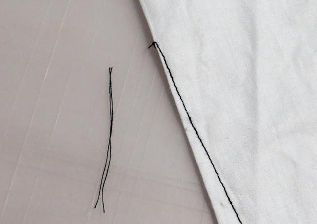 Sobrante de hilos cortados de la punta de la pinza