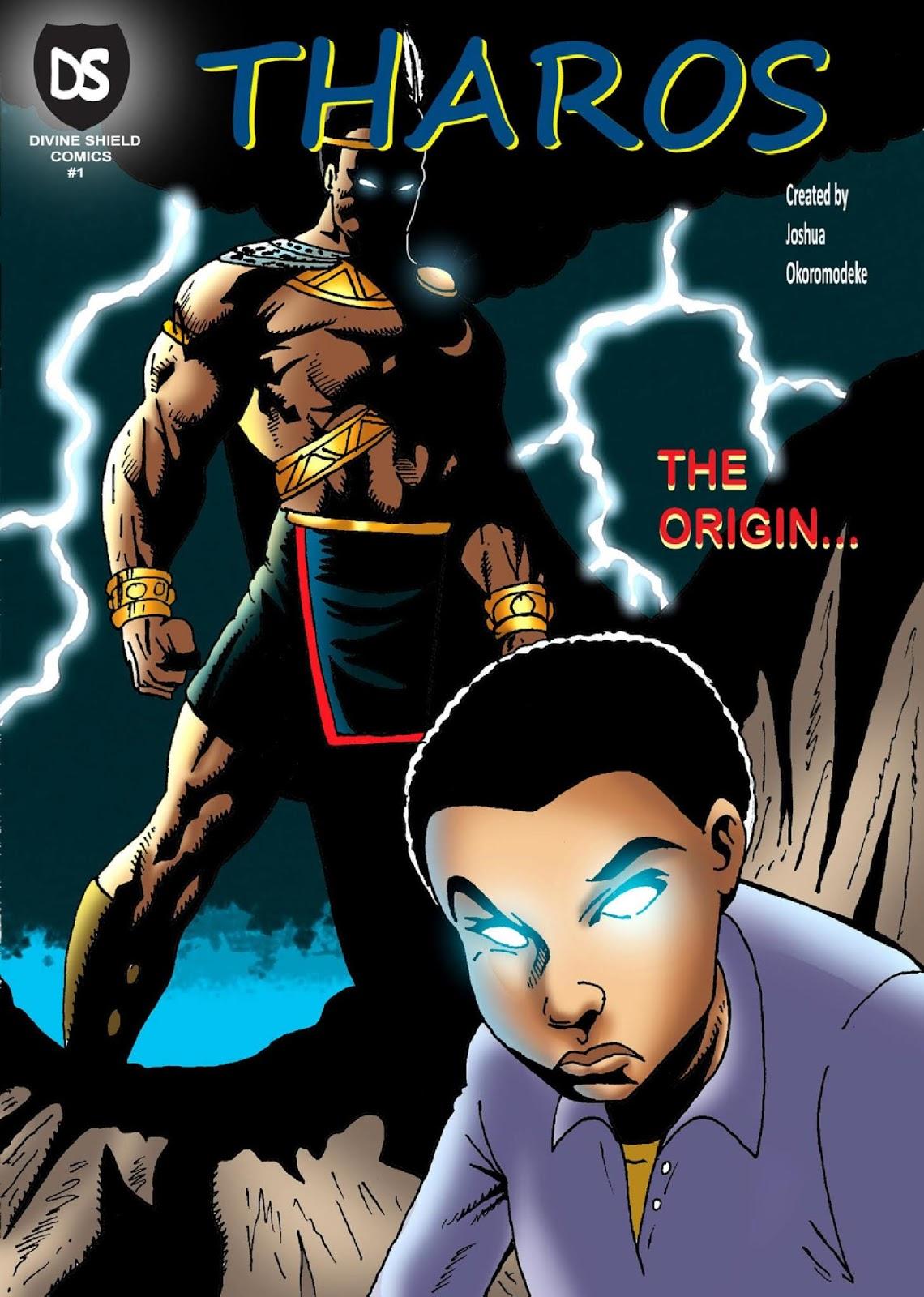 Tharos: The Origin by Joshua Okoromodeke