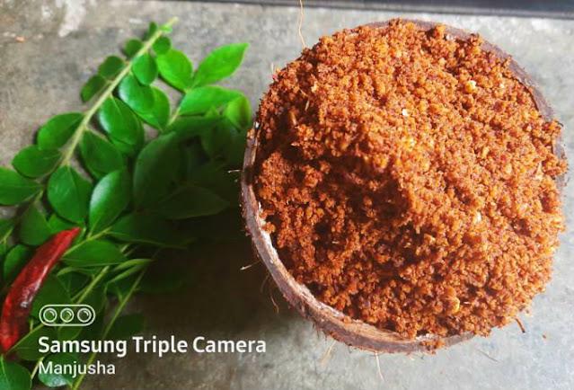coconut-dry-chutney-powder