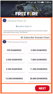 Layon Shop adalah aplikasi yang di percaya bisa top up diamond Free Fire gratis. Download aplikasi Layon Shop Apk terbaru. Begini cara menggunakan aplikasi Layon Shop dan dapatkan diamond free fire gratis.