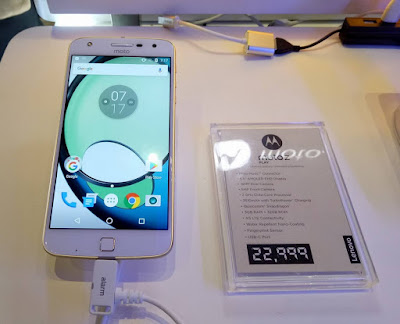 Moto Z Play Unveils in the Philippines for Php22,999; MotoMods, Snapdragon 625, 16MP Camera