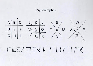 Pigpen cipher, Freemason cipher