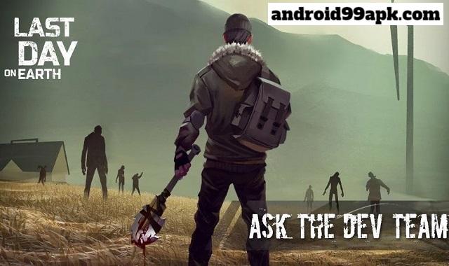 لعبة الزومبي Last Day on Earth: Survival v1.17.1 مهكرة كاملة (بحجم 317 MB) للأندرويد